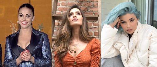 Lara Álvarez, Sara Carbonero y Kylie Jenner lucen los mejores beauty looks de la primera semana de 2019