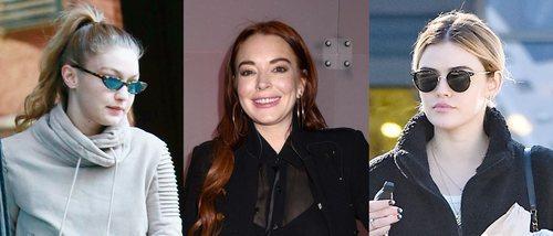 Gigi Hadid, Lindsay Lohan y Lucy Hale lucen los peores beauty look de la primera semana de 2019