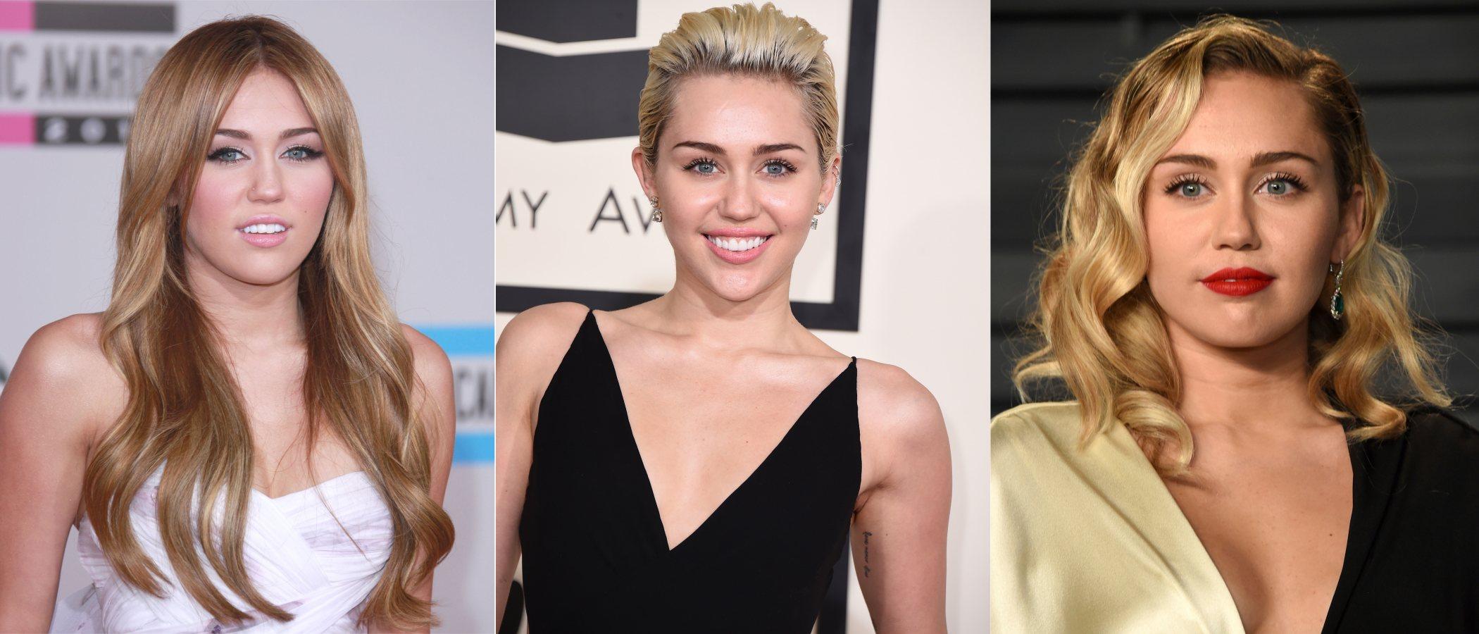 Los mejores peinados de Miley Cyrus