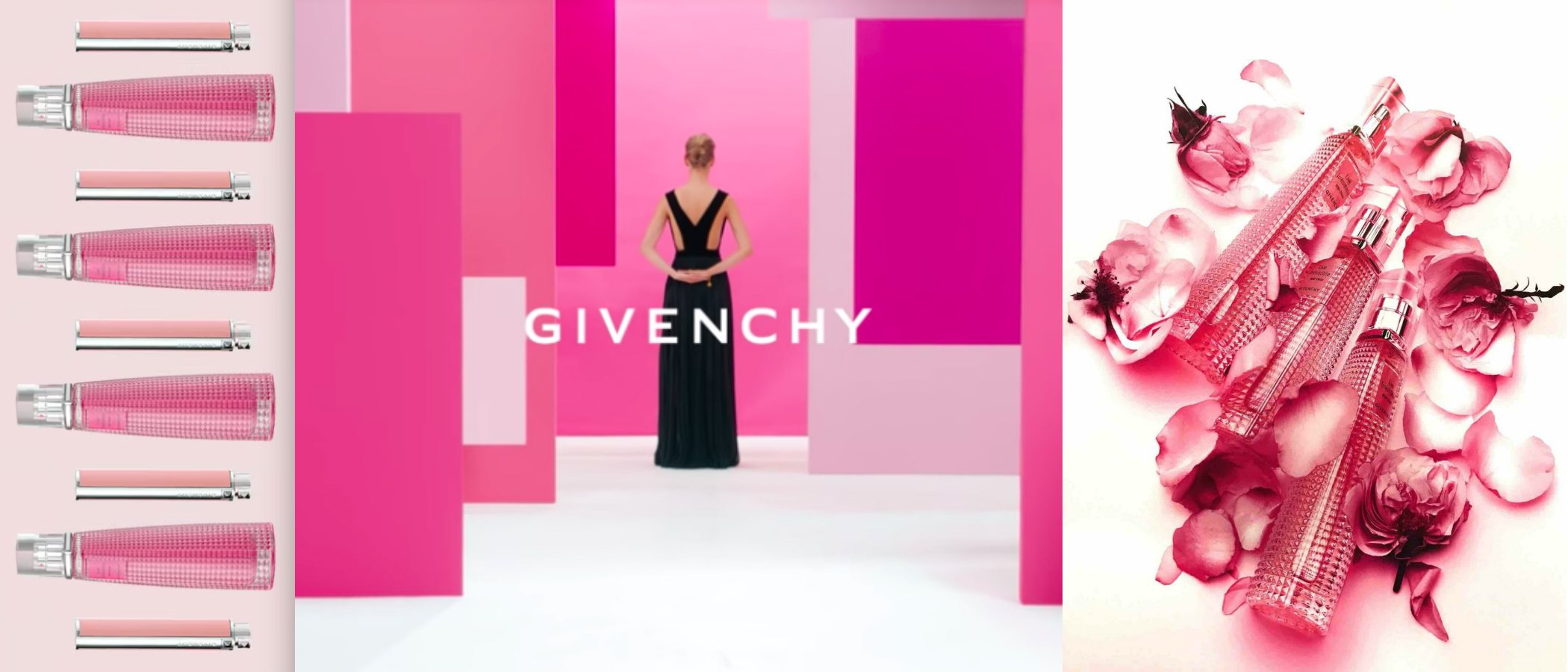 'Live Irrésistible Rosy Crush', la nueva fragancia femenina de Givenchy