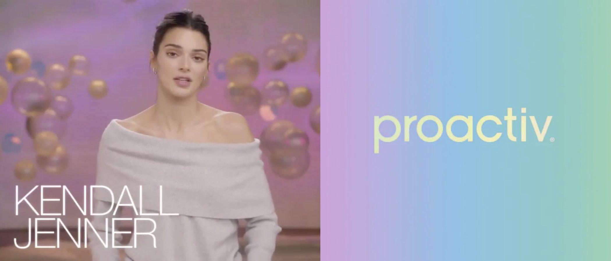 Kendall Jenner se estrena como rostro de Proactiv con una gran polémica