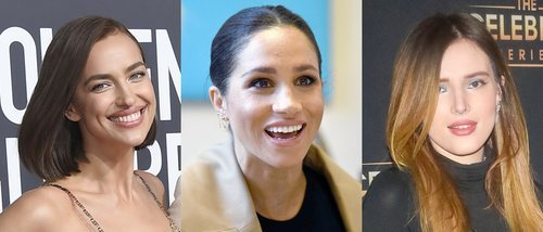 Irina Shayk, Meghan Markle y Bella Thorne lucen los mejores beauty looks de la semana