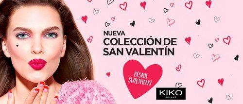 'Sweetheart', la colección de maquillaje de Kiko para San Valentín 2019