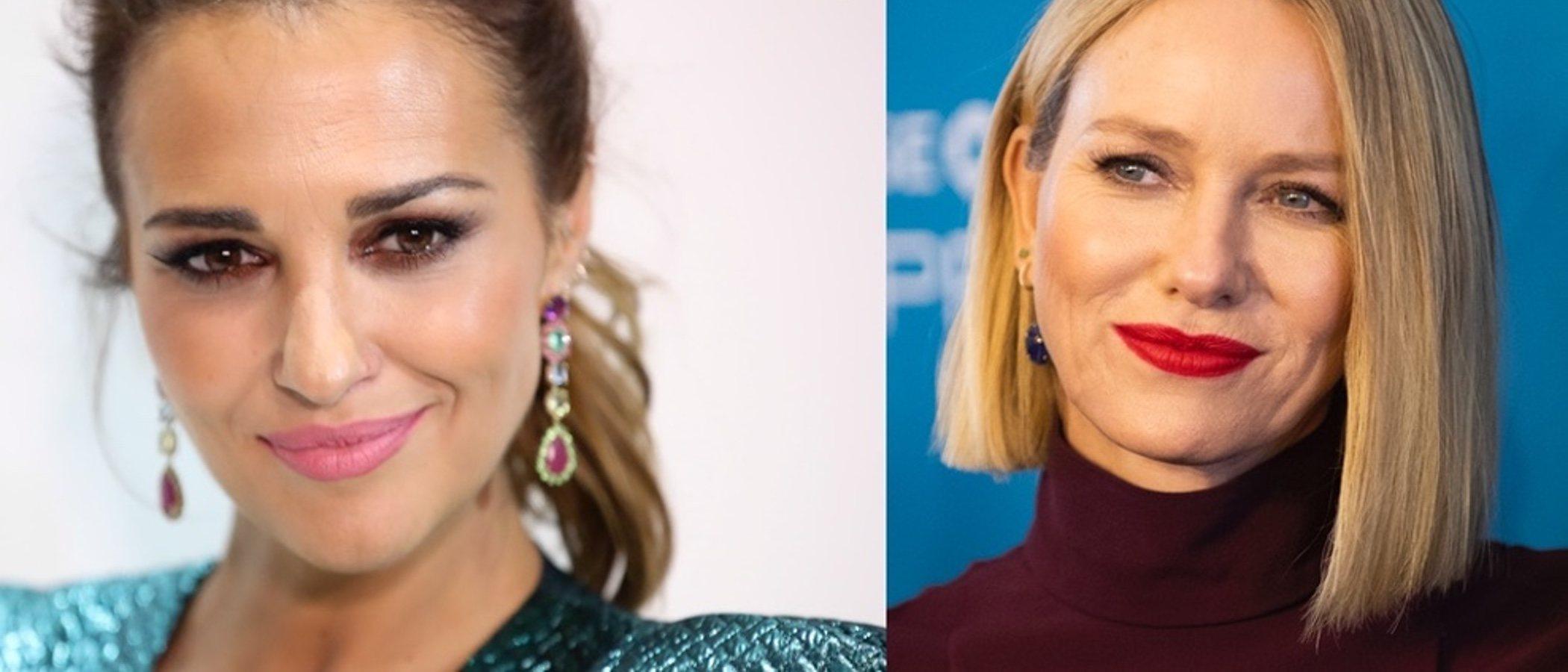Paula Echevarría y Naomi Watts lucen los mejores beauty looks de la semana