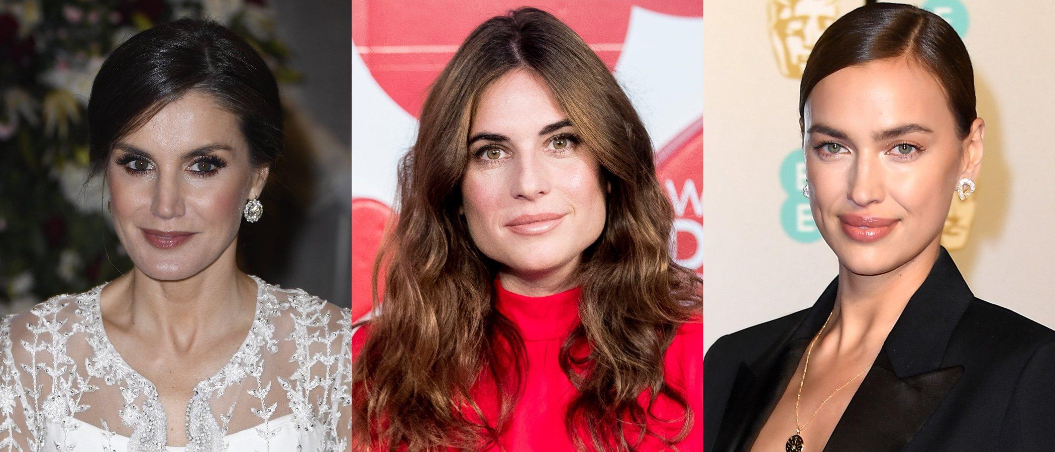 La Reina Letizia, Lourdes Montes e Irina Shayk, las celebrities que más brillan por sus beauty looks
