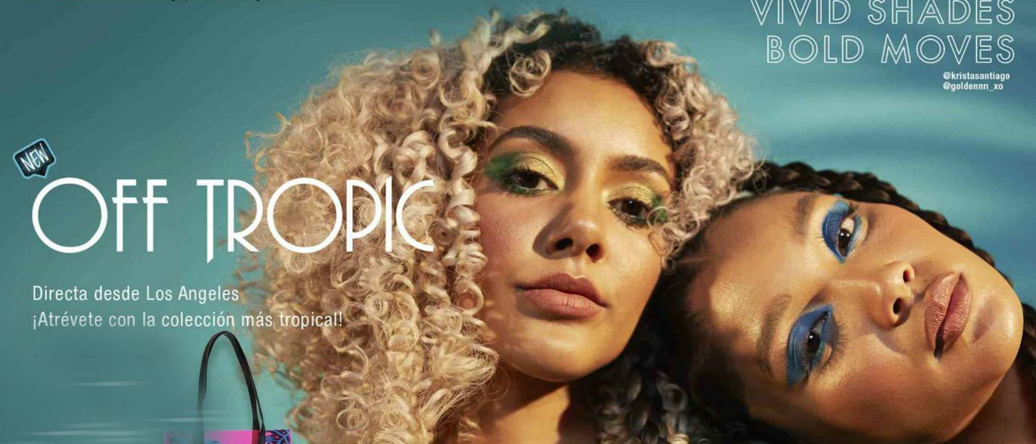 'Off Tropic', la atrevida colección de maquillaje de NYX para primavera 2019