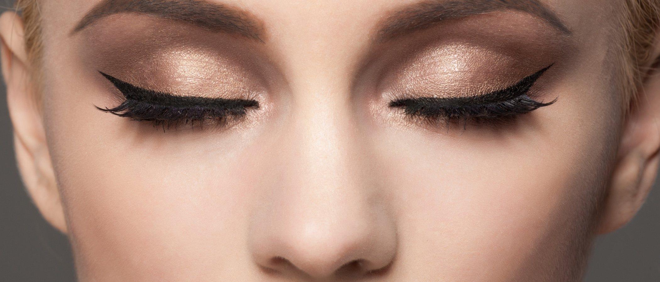 Ojos caídos, ¿cómo aplicar el eyeliner?
