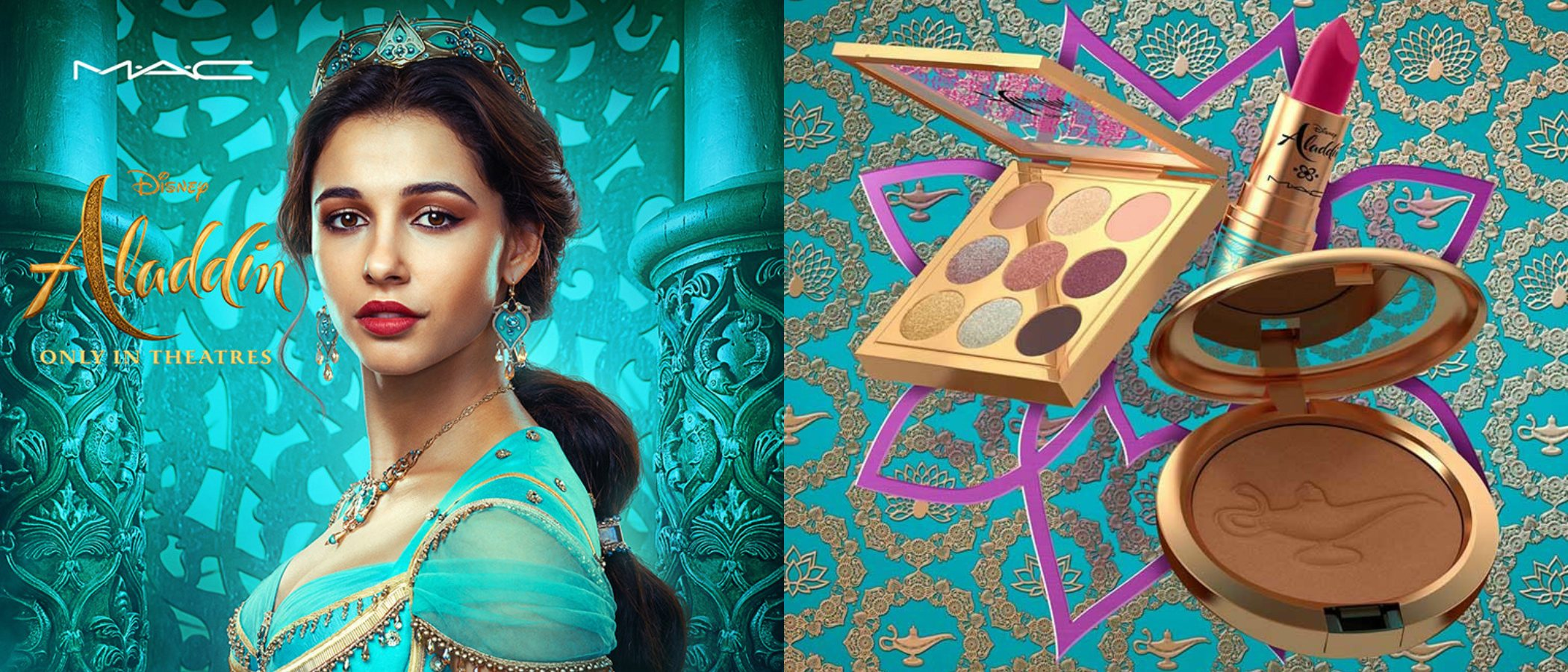 MAC lanza una colección de maquillaje inspirada en 'Aladdin'