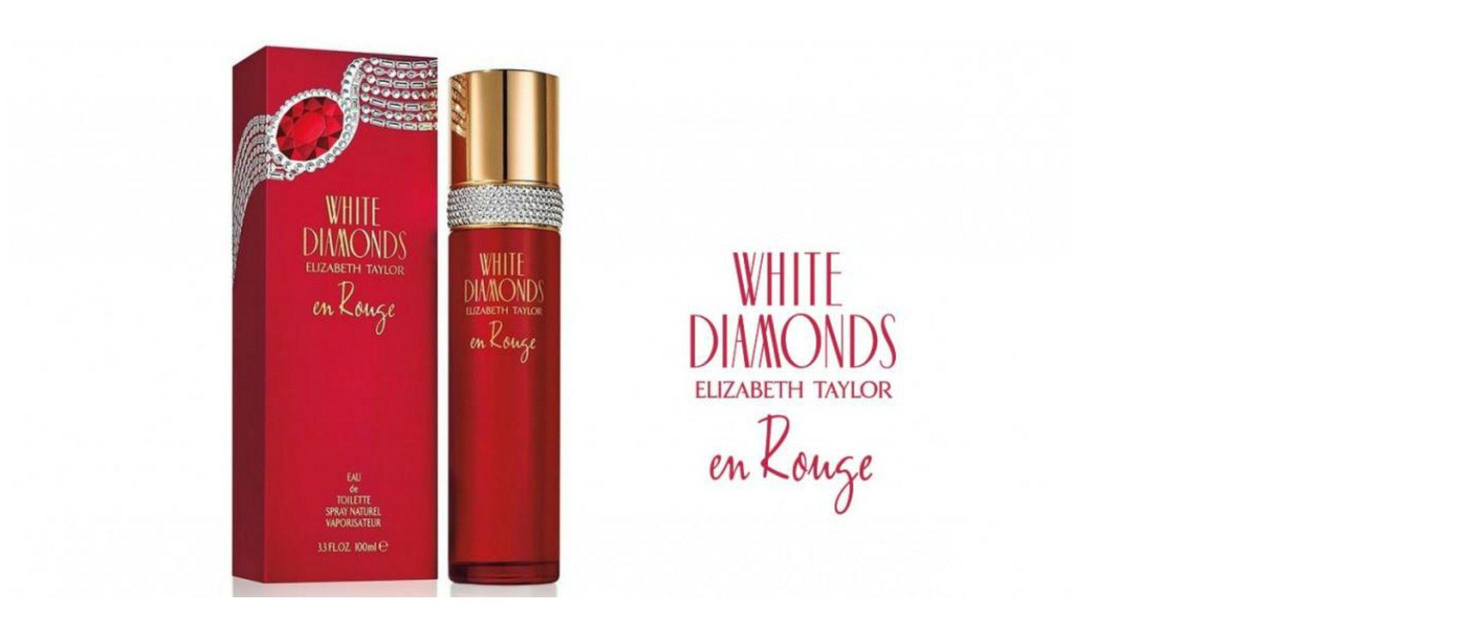 'White Diamonds en Rouge', la nueva edición de la mítica línea de fragancias de Elizabeth Taylor