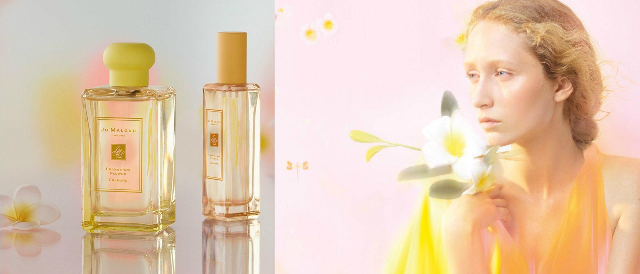 Jo Malone amplía su colección de fragancias unisex 'Blossoms' con el lanzamiento de 'Frangipani Flower'