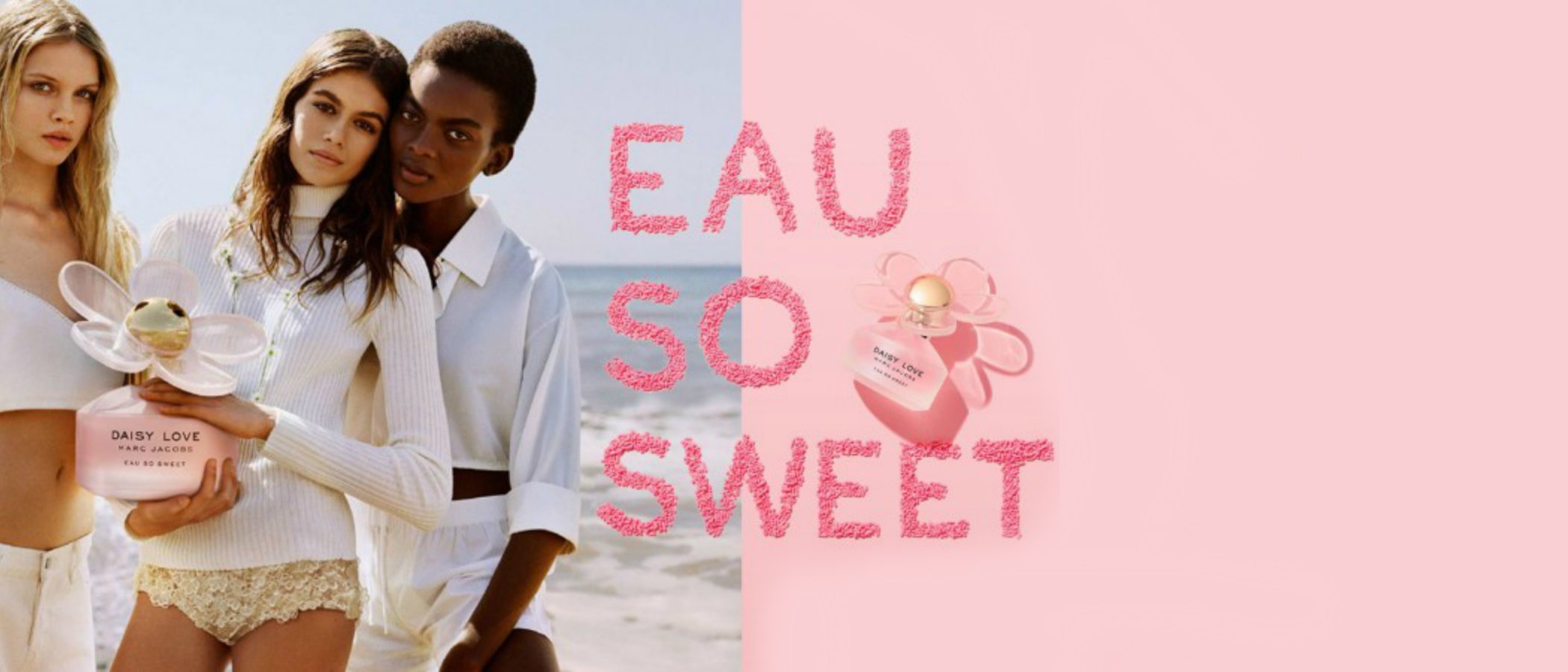 'Daisy Love Eau So Sweet', la nueva fragancia femenina de Marc Jacobs