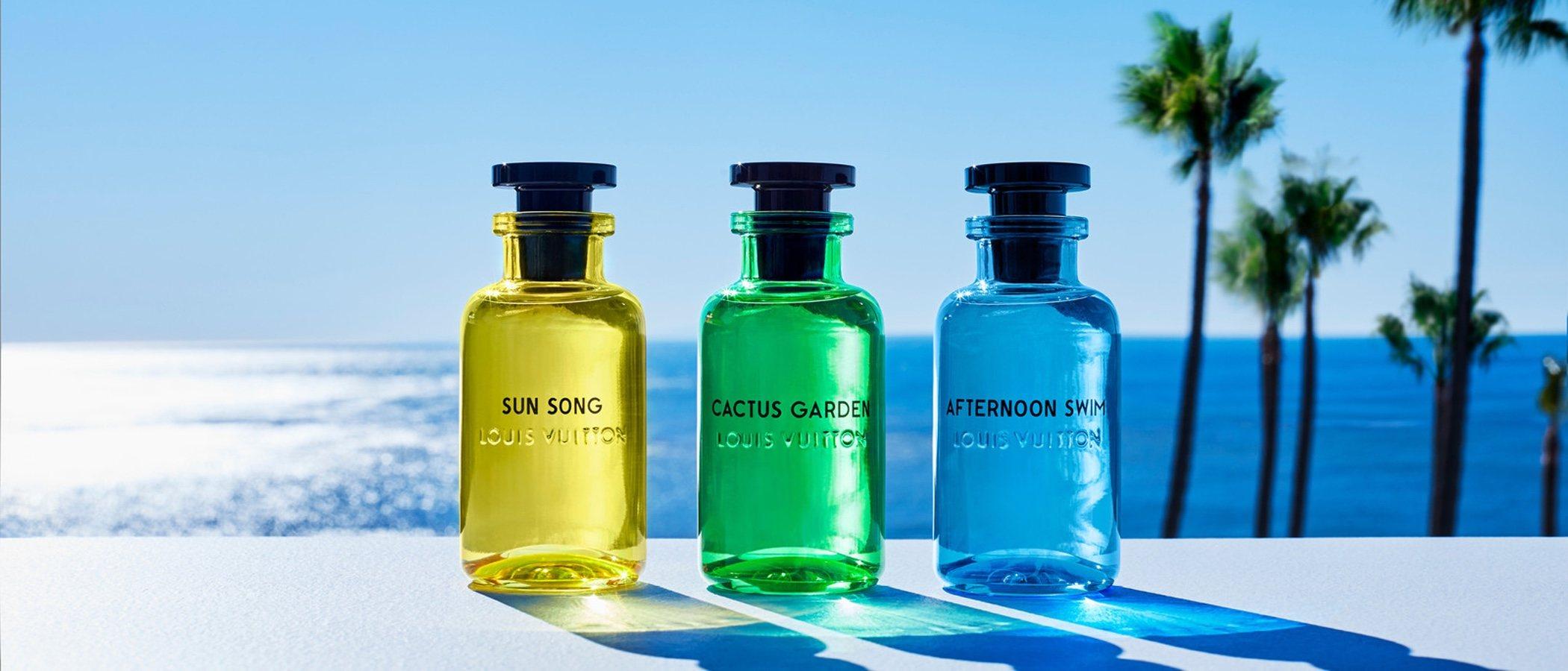 Louis Vuitton presenta 'Cologne Perfumes', los aromas del verano