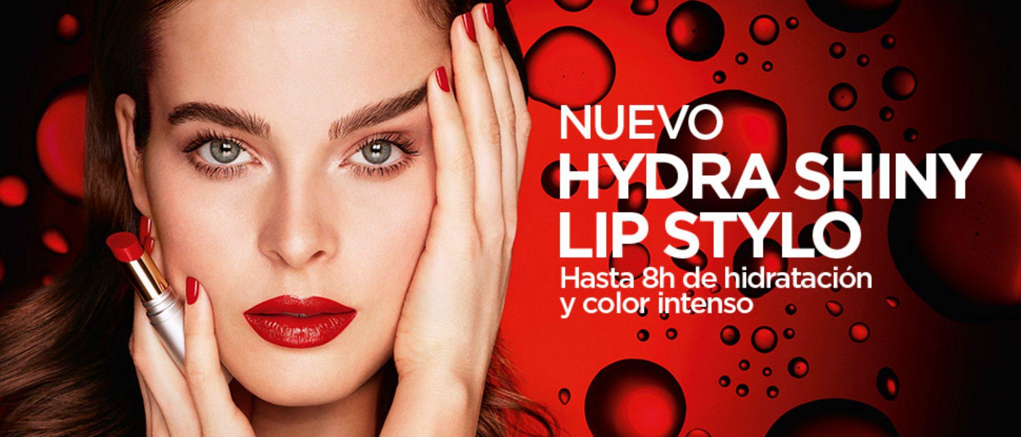 Kiko presenta 'Hydra Shiny Lip Stylo', una nueva barra de labios hidratante y de color intenso
