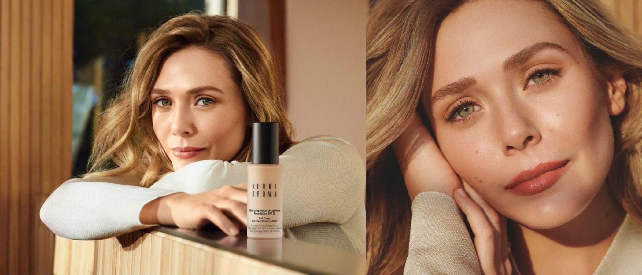 Elizabeth Olsen se convierte en la nueva embajadora de Bobbi Brown