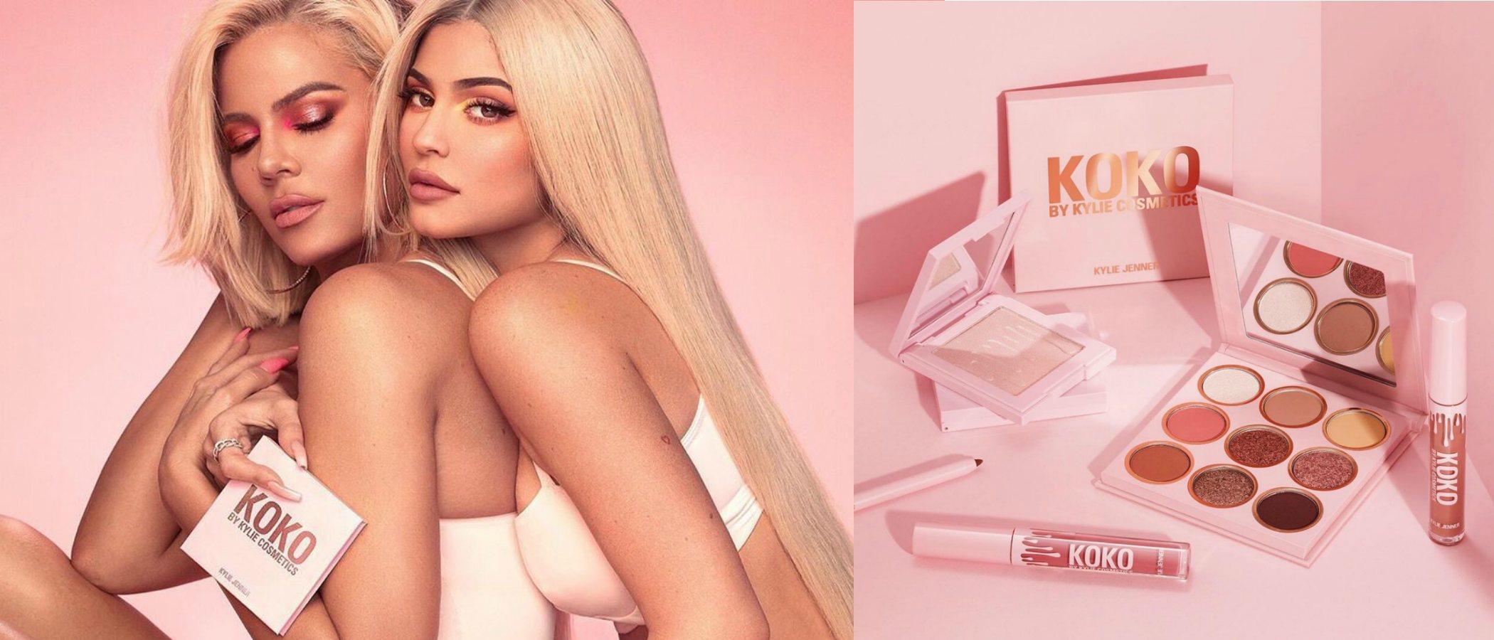 Kylie Cosmetics presenta 'Koko Kollection', la tercera colección de Kylie Jenner con Khloé Kardashian