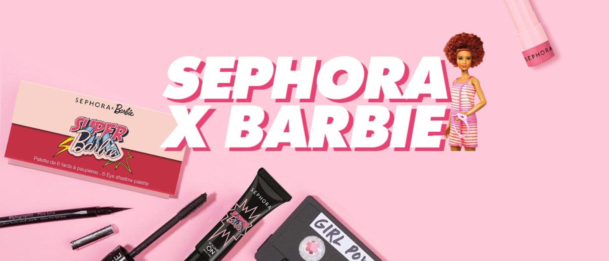 Sephora celebra el 60 cumpleaños de Barbie con una colección completísima