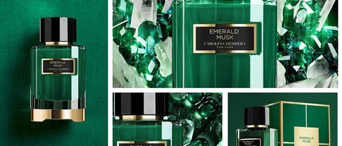 Carolina Herrera lanza 'Emerald Musk', un aroma único, poderoso y equilibrado