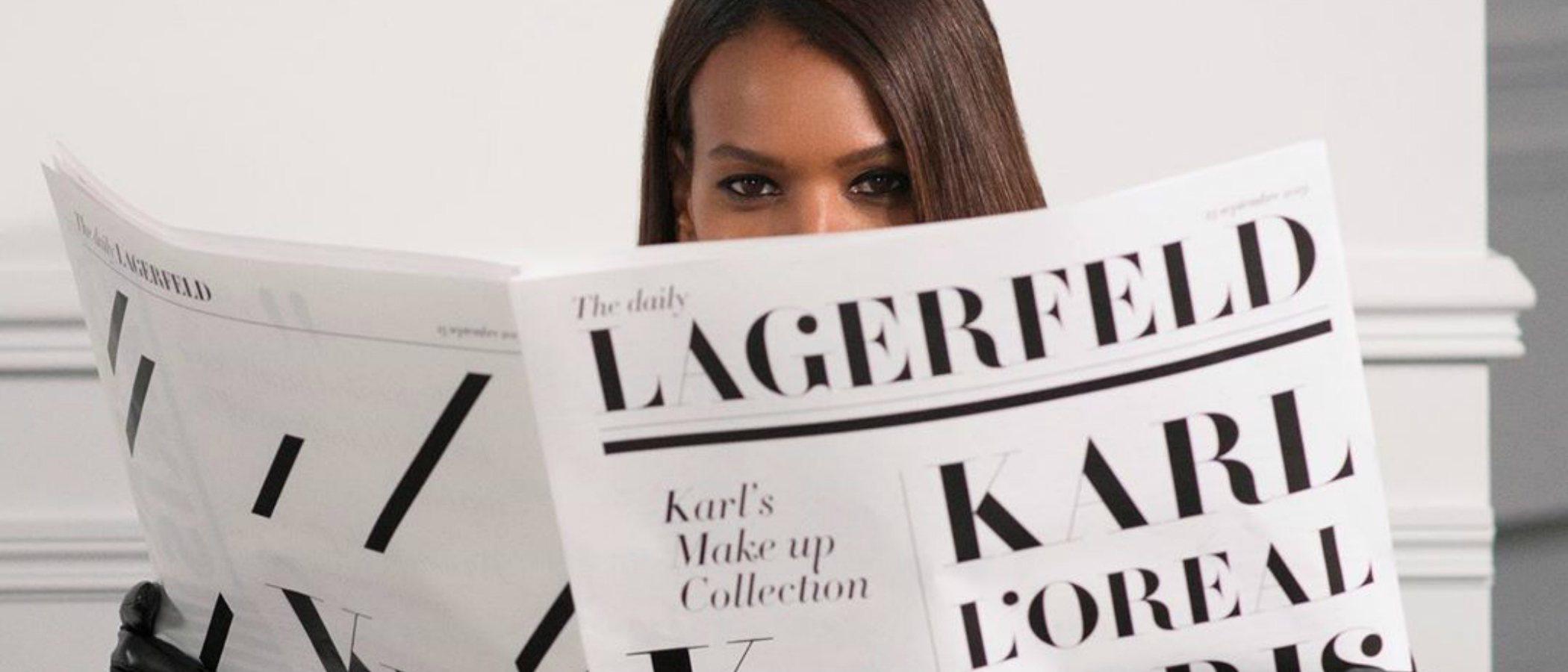 L'Oréal lanzará una colección de maquillaje junto a la casa Karl Lagerfeld