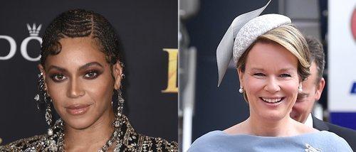 Beyoncé y Matilde de Bélgica, entre los peores beauty looks de la semana