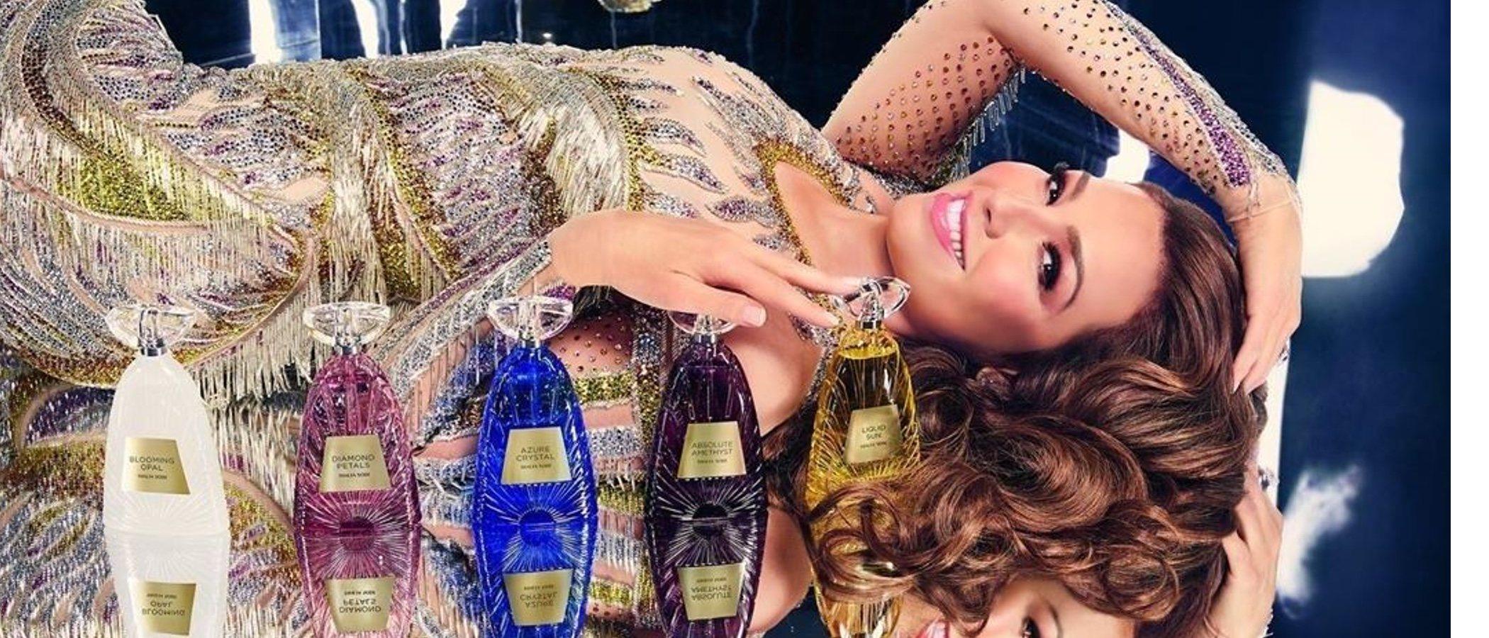 Thalía lanza una colección de cinco perfumes en un homenaje a la frescura y la elegancia del verano