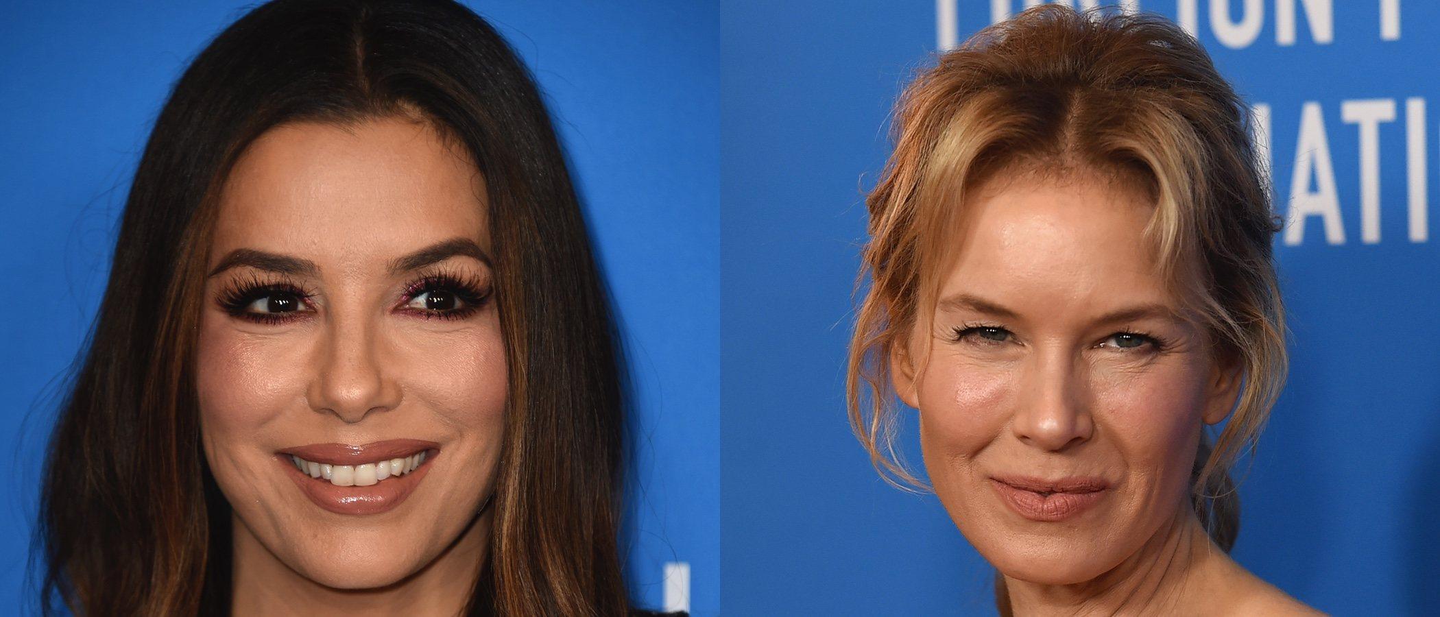 Renée Zellweger y Eva Longoria se coronan con los peores beauty looks de la semana