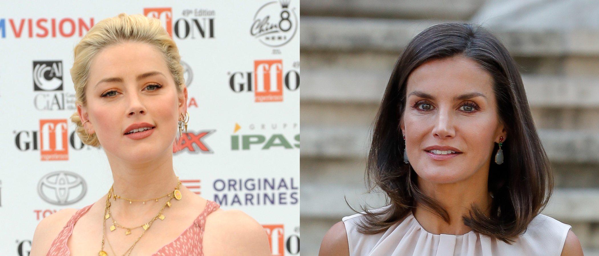 La Reina Letizia y Amber Heard se coronan en el top five con los mejores beauty looks de la semana