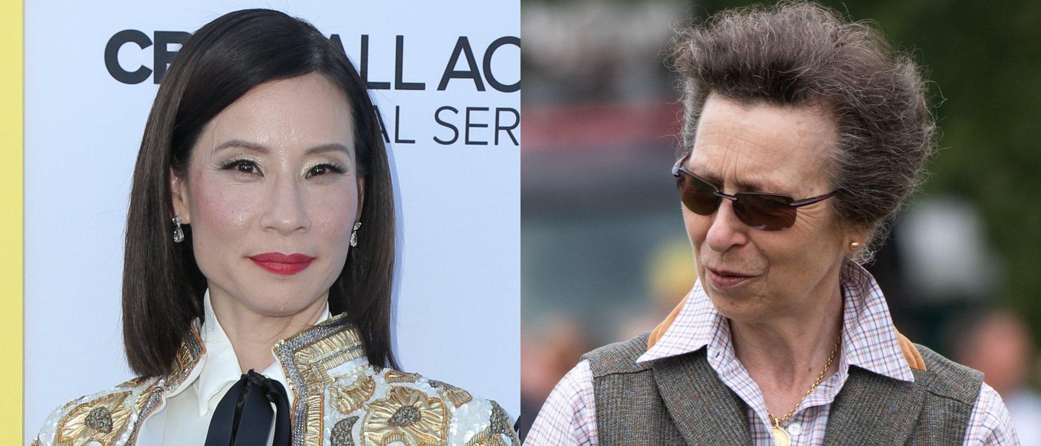 La Princesa Ana de Inglaterra y Lucy Liu se coronan como los peores beauty looks de la semana