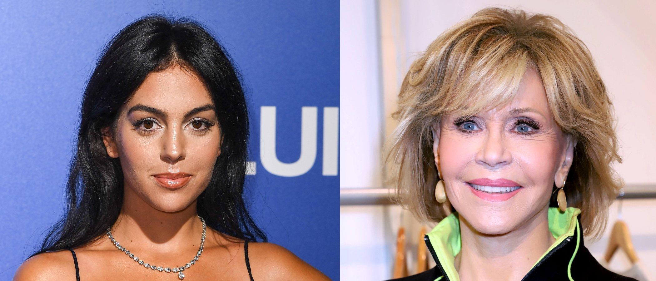 Jane Fonda y Georgina Rodríguez se coronan con los mejores looks beauty de la semana