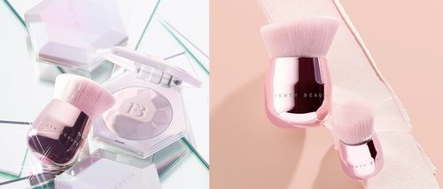 Mucho brillo y glow con los nuevos highlighters de Fenty x Rihanna: 'Diamond Bomb II' y 'Liquid Diamond Bomb'