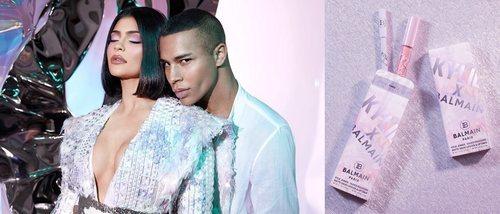 Kylie Jenner lanza una colección de maquillaje con Balmain