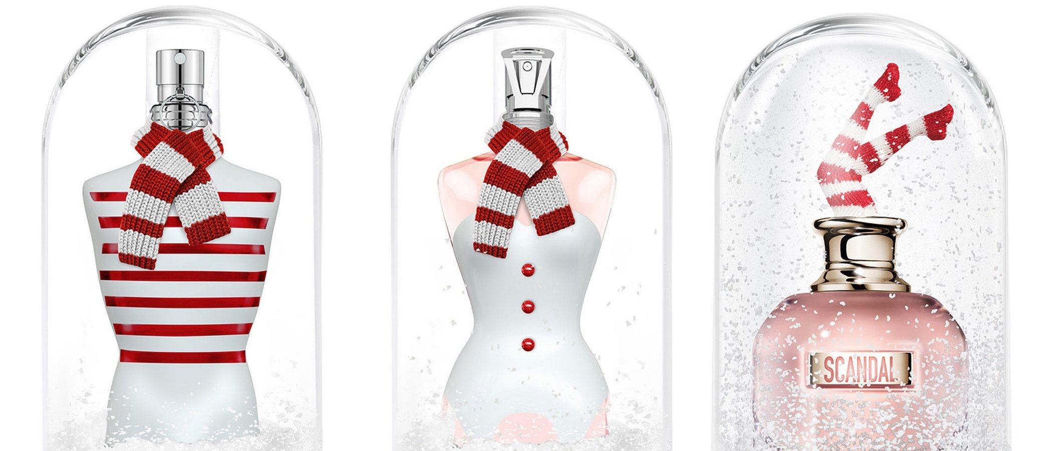 'Snow Globe Collector's Editions': los perfumes más navideños de Jean Paul Gaultier
