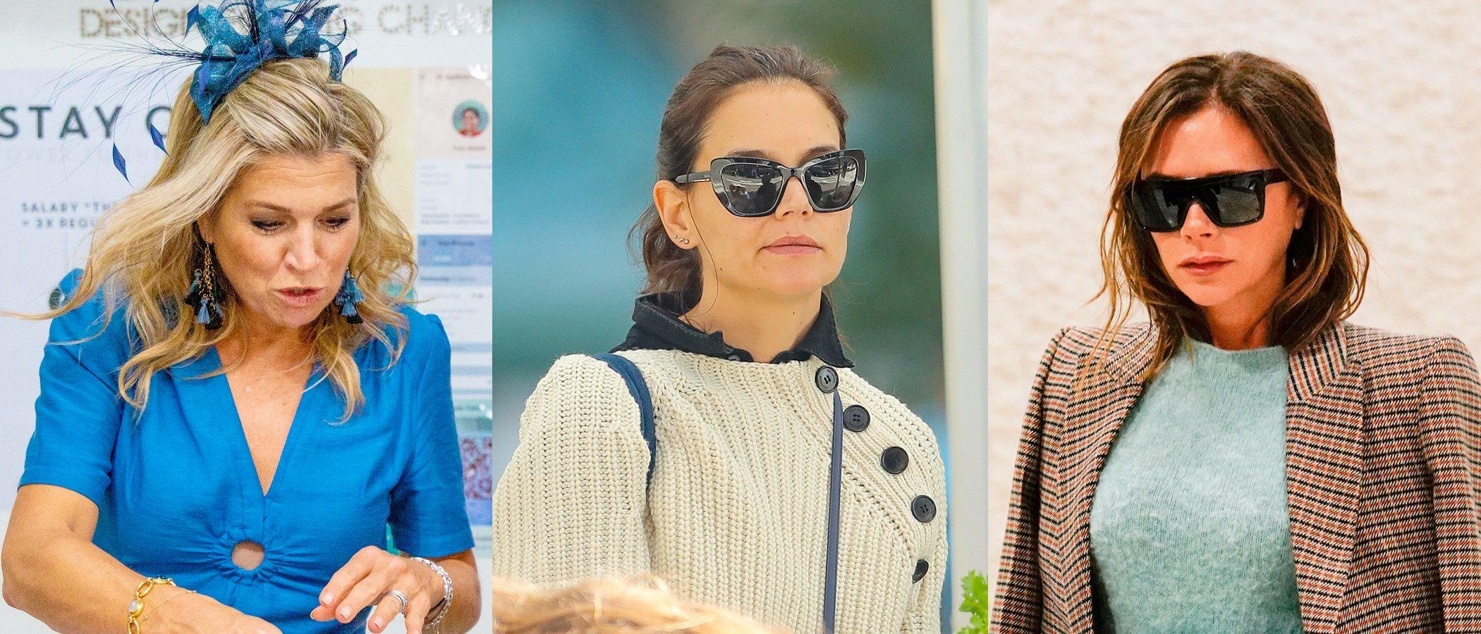 Máxima de Holanda, Katie Holmes y Victoria Beckham se coronan con los peores looks beauty de la semana