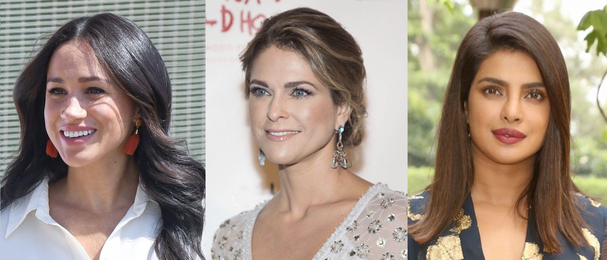 Meghan Markle, Magdalena de Suecia y Priyanka Chopra lucen los mejores looks beauty de la semana