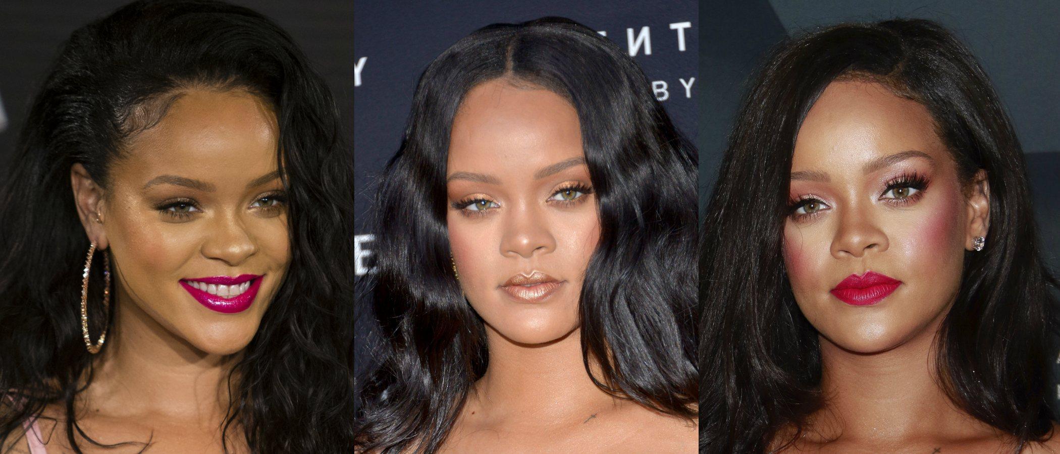 Maquíllate como Rihanna