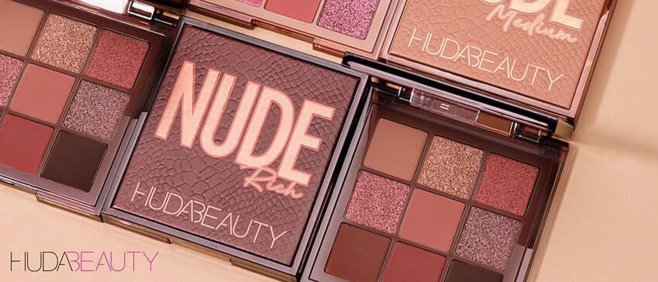 'Nude Obsessions': las paletas nude más chic -y para cada tipo de piel- de Huda Beauty