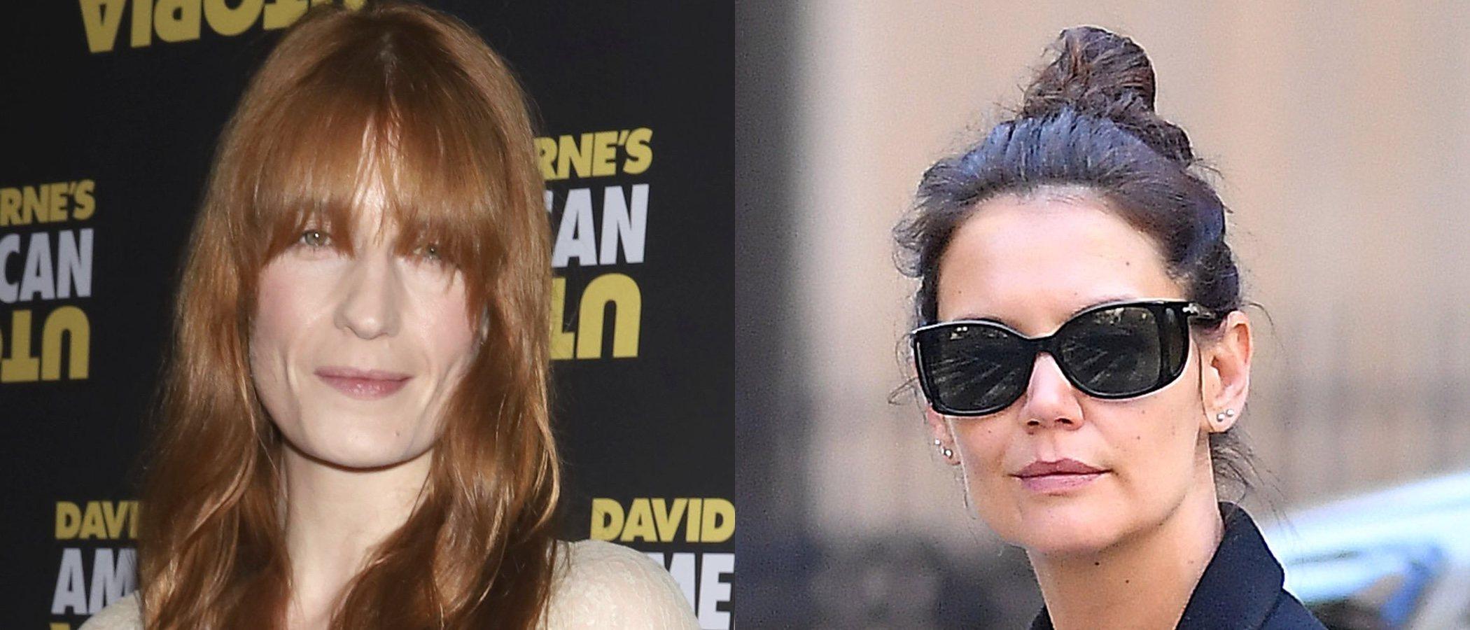 Florence Welch y Katie Holmes encabezan los peores beauty looks de la semana