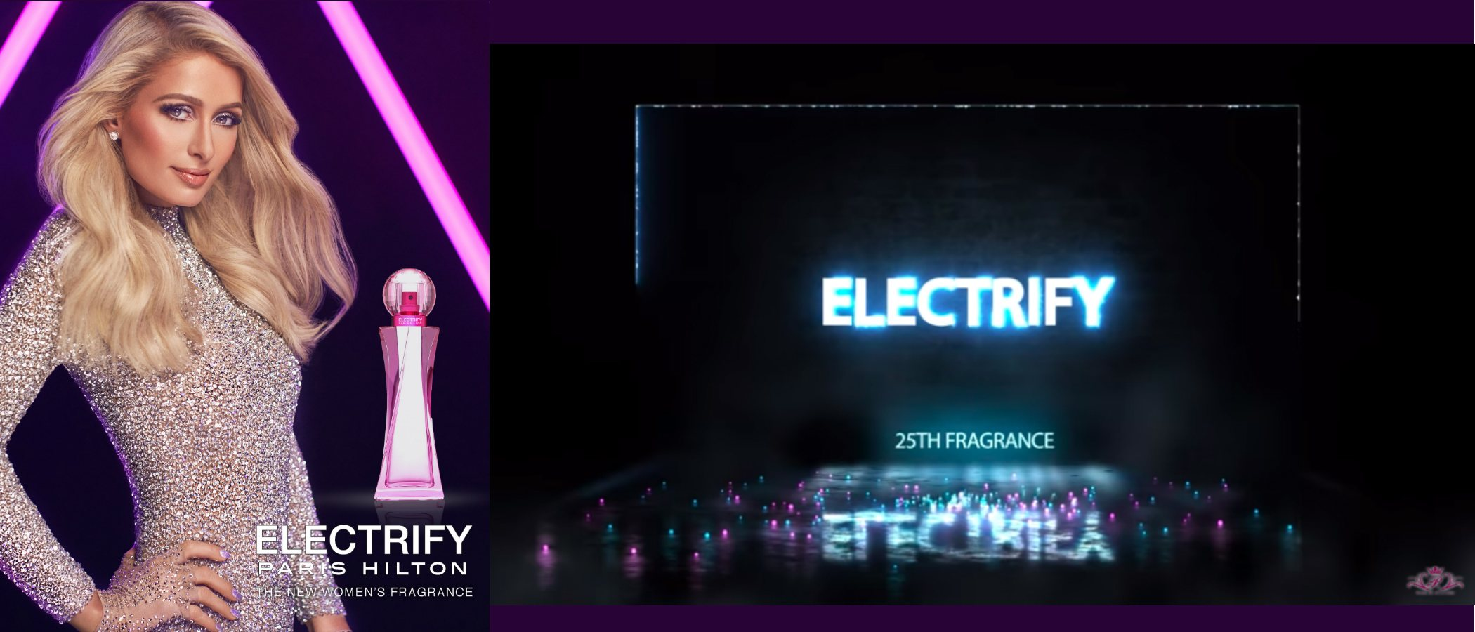 'Electrify', la nueva fragancia femenina de Paris Hilton