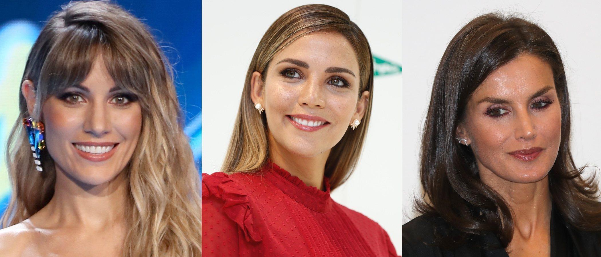 Edurne, Rosanna Zanetti y la Reina Letizia lucen los mejores beauty looks
