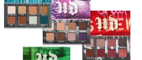 'On the run mini palette': las cinco nuevas paletas de Urban Decay de tamaño reducido