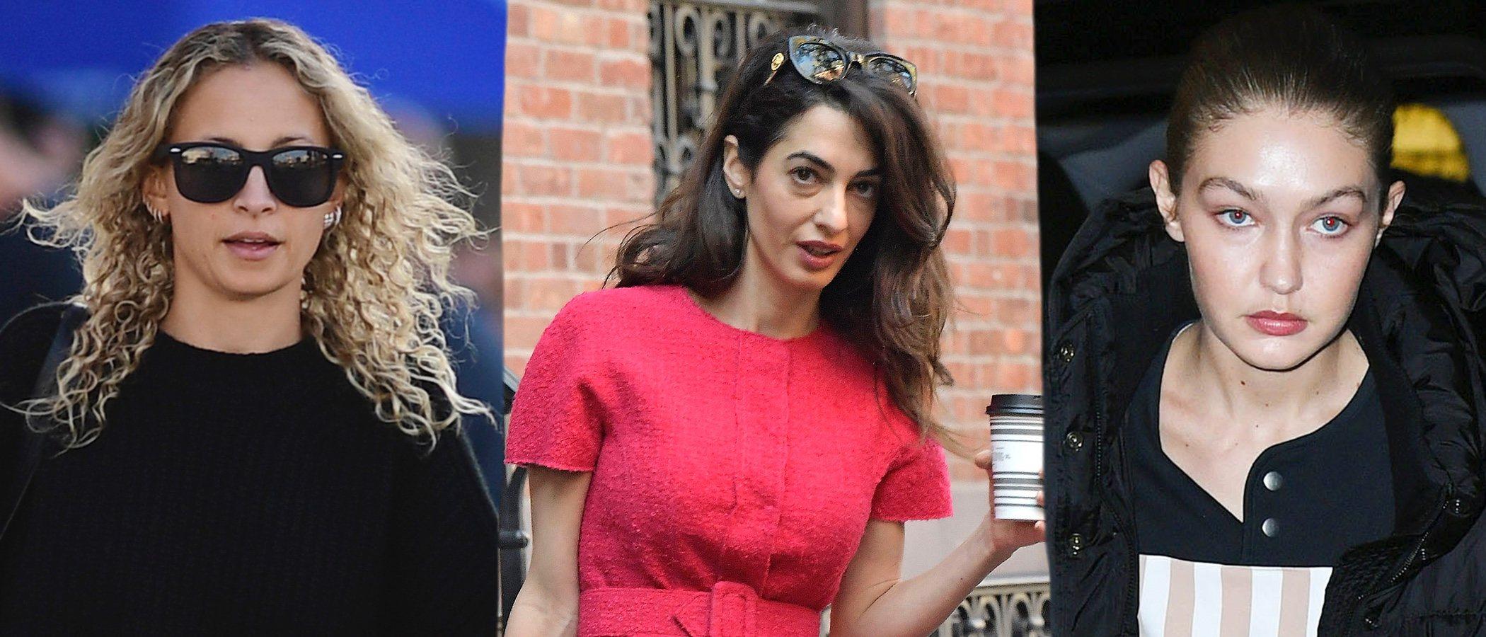 Nicole Richie, Amal Clooney y Gigi Hadid lucen los peores beauty looks de la semana