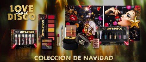 'Love Lust Disco', la colección de maquillaje de NYX para esta Navidad 2019