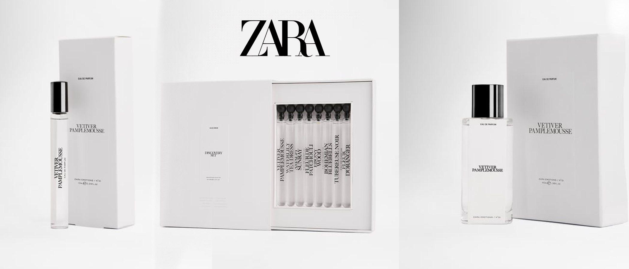 'Zara Emotions': la colección de perfumes de Jo Malone