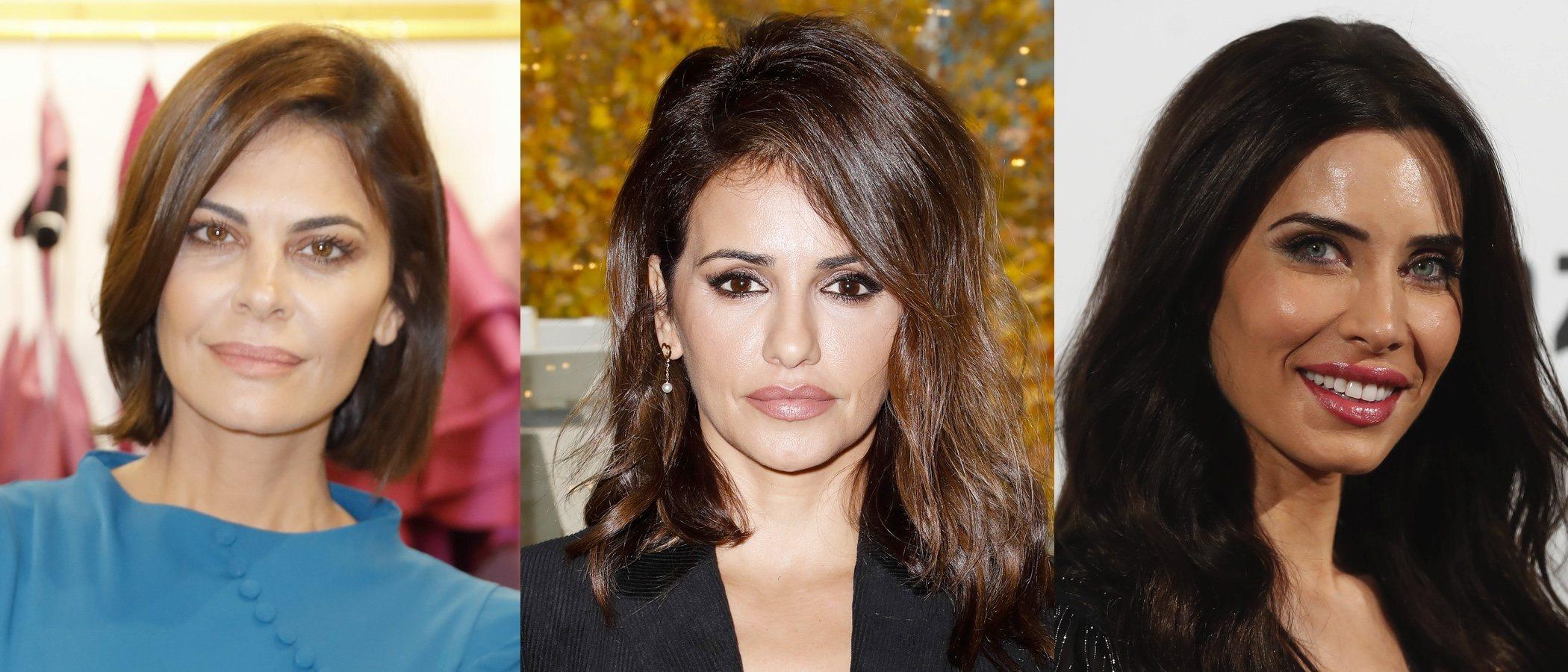 María José Suárez, Mónica Cruz y Pilar Rubio lucen los mejores beauty looks de la semana