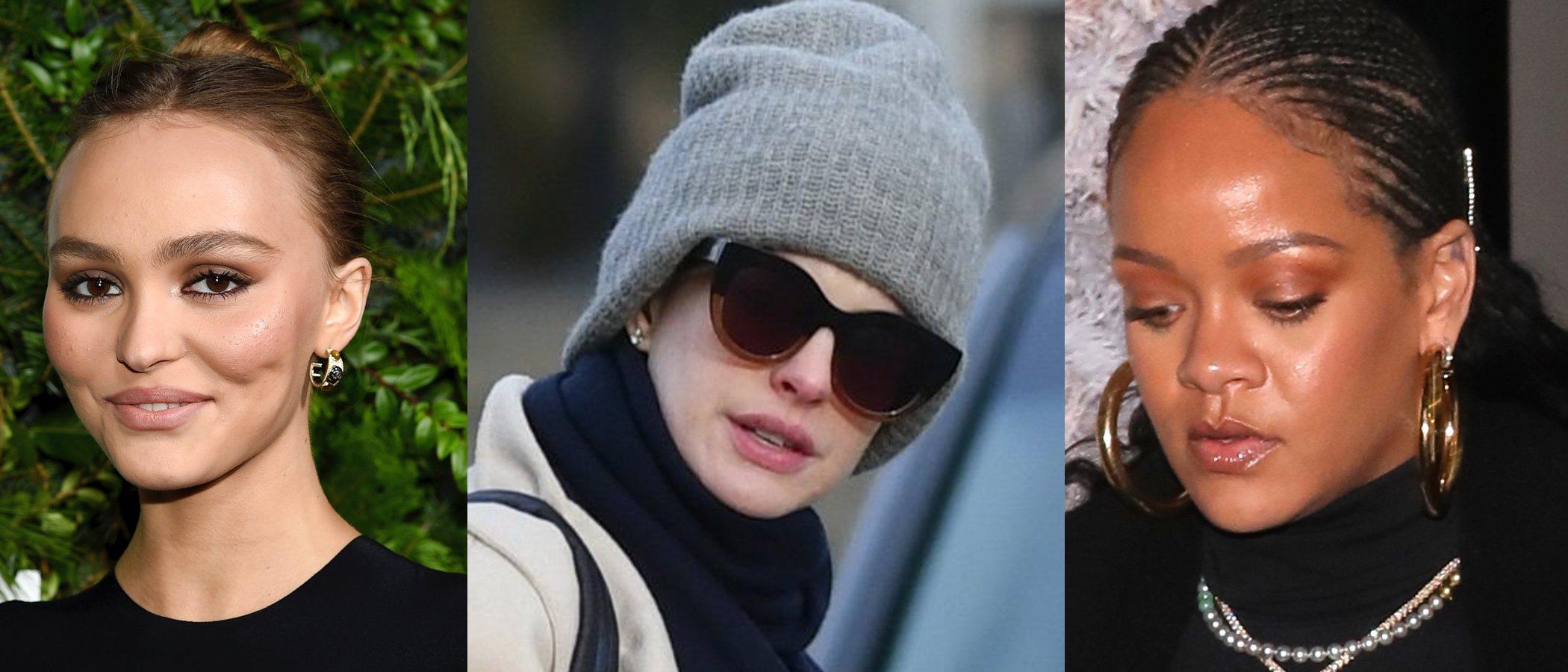 Rihanna, Anne Hathaway y Lily Rose-Depp, entre los peores beauty looks de la semana