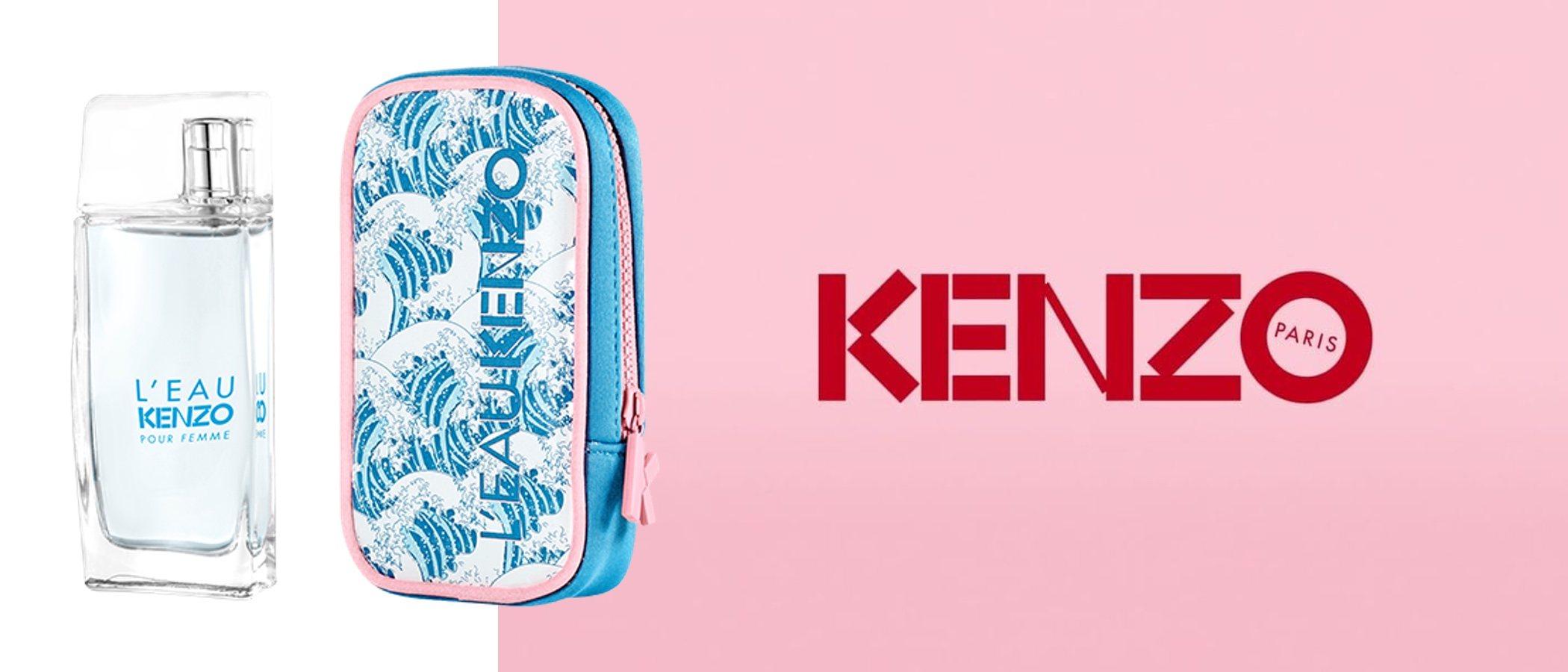 'L'Eau Kenzo', la nueva fragancia que hace oda a la vida