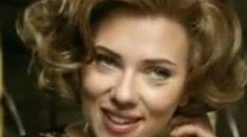 Scarlett Johansson se transforma en Marilyn Monroe para promocionar The One
