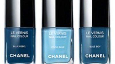 Blue Jeans Nails de Chanel, tres azules para vida a tus uñas