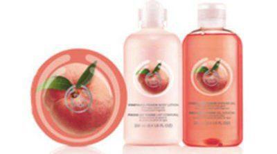 The Body Shop lanza su nueva línea de 'Melocotón de Viña'