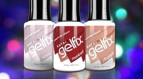 Uñas de gel perfectas durante todas las Navidades gracias a los nuevos esmaltes de Katai Gelfix