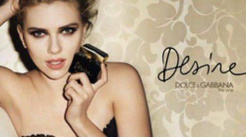 Scarlett Johansson repite con Dolce & Gabbana como imagen de su último perfume